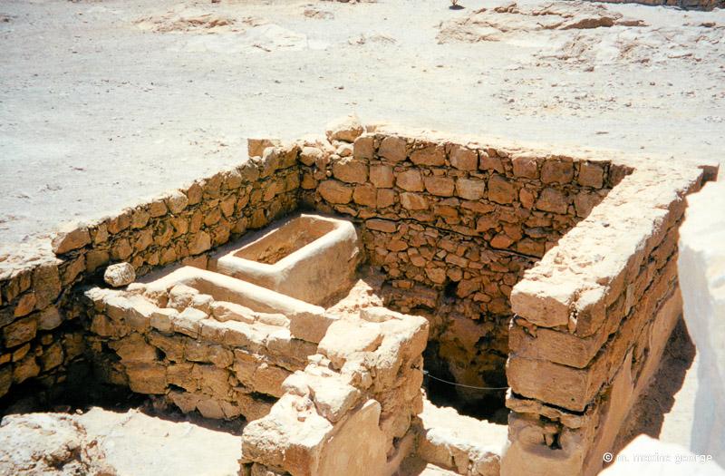 One of King Herod's bath houses
