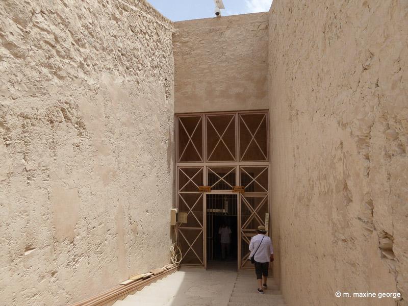 The new entrance to the Tomb of King Tutankhamen