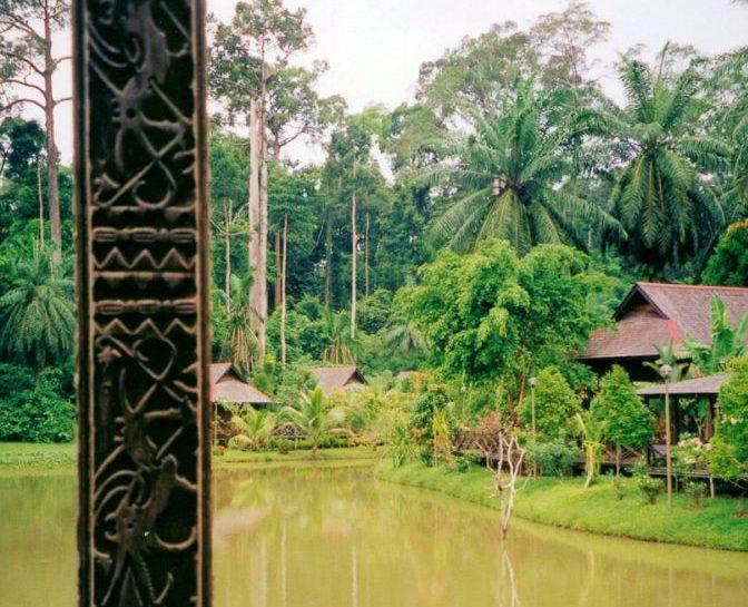 Wildlife Expedition's Sukau River Lodge, Sabah, Malaysia by Lenora Hayman