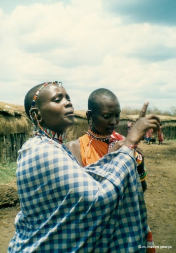 Kenya Masai Girls
