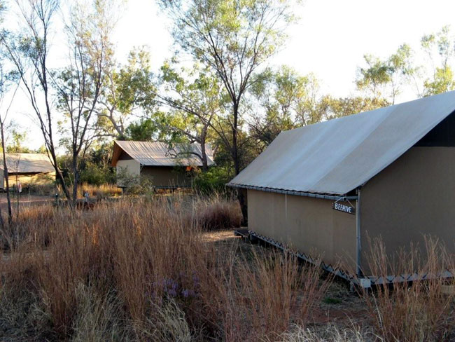 """Our """"Five Star"""" accommodation at the Bungle Bungle Wilderness Lodge, Australia"""