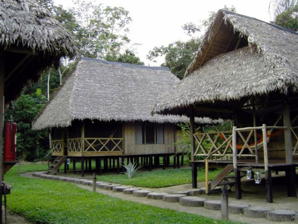 Our accommodation at Reserva Amazonica Inkaterra, Peru