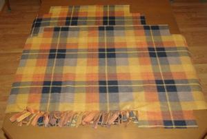 No-Sew Babywearing Fleece Poncho With Fringe, revised (2/6)