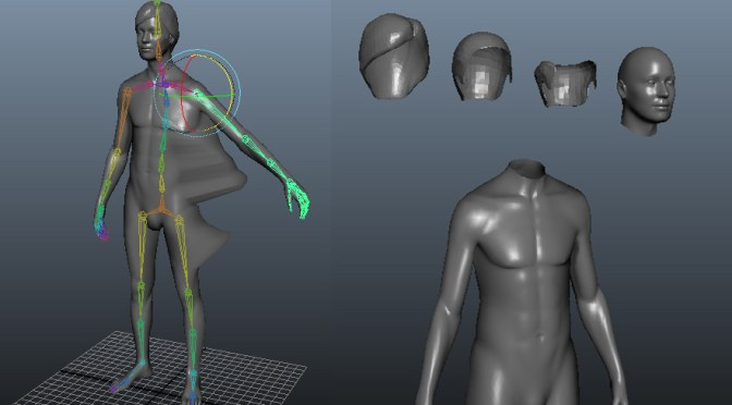 The researcher who created a 3D runway