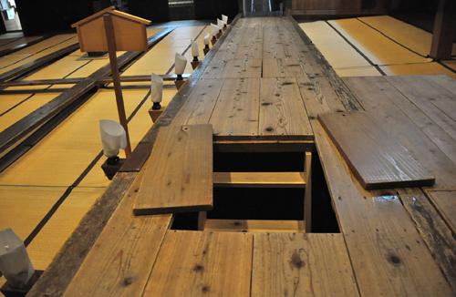 Kabuki Theatre Trapdoor