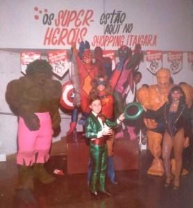 Mágico Marcelo Kruschessky - 11 anos - Super Heróis