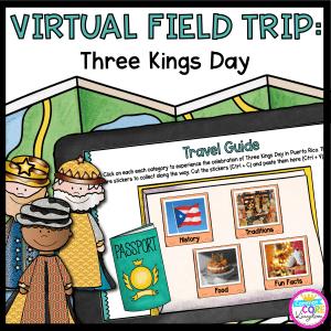 Virtual Field Trip Three Kings Day Cover