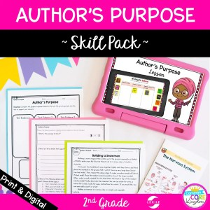 Author's Purpose Skill Pack for 2nd Grade RI.2.6