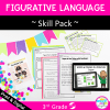 Skill Pack: Figurative Language for 3rd Grade