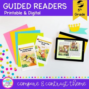 5th Grade Compare & Contrast Guided Readers RL.5.9