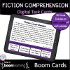Fiction Comprehension Boom Cards for 4th & 5th Grade