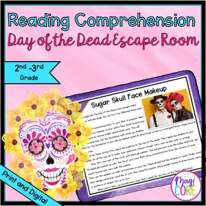 2nd & 3rd Land of the Dead Reading Comprehension Escape Room - Digital & Print
