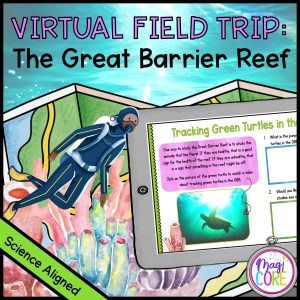 Virtual Field Trip to the Great Barrier Reef - Google Slides & Seesaw