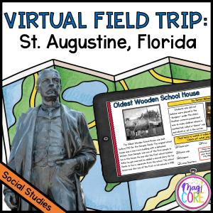 Virtual Field Trip to St. Augustine, Florida - Google Slides & Seesaw