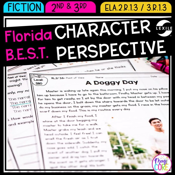 Character Perspective - 2nd & 3rd Florida B.E.S.T. ELA.2.R.1.3/ELA.3.R.1.3