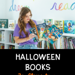 halloween book recommendation pin
