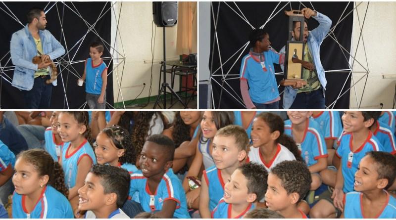 (Magico BH) Show De Mágica Com Mágico Rui Na Escola Municipal Osório Aleixo da Silva Em Betim Dia 27 09 2016