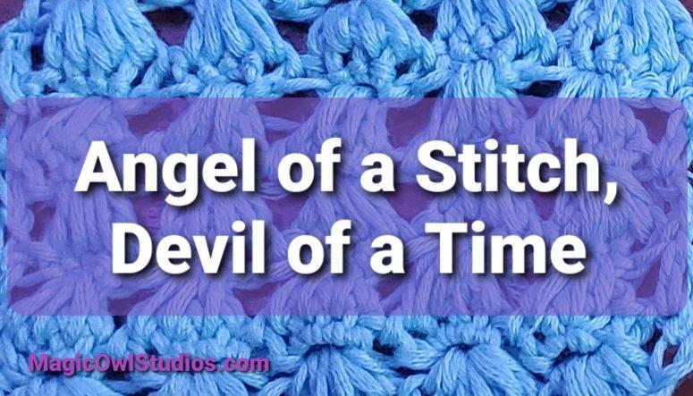 Angel stitch tutorial