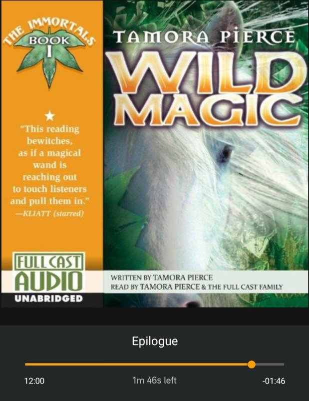 Wild magic book review cover