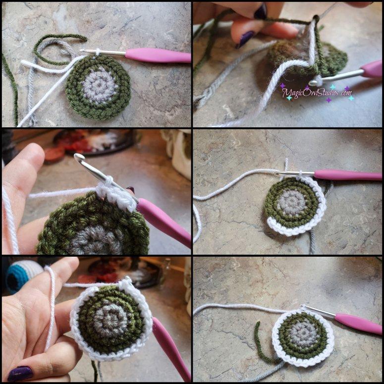 crochet eyeball pattern round 5