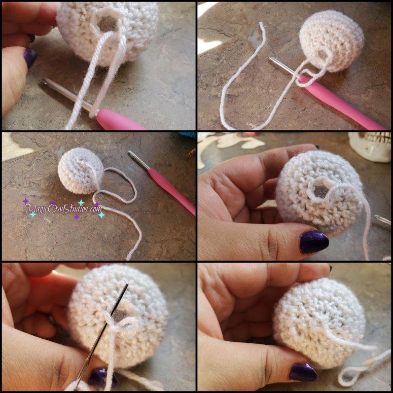 crochet eyeball pattern cinch the 7 stitches