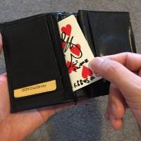 財布からカード