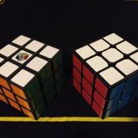 ルービックキューブが二つ