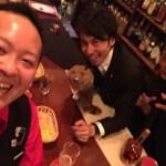 大阪【MagicBARトライアンフ!】のささきさんが遊びに来てくれました!!
