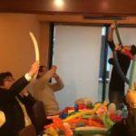 ◆バルーンアート&風船飲み講座開催!!