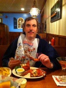 Enjoying Lobstah