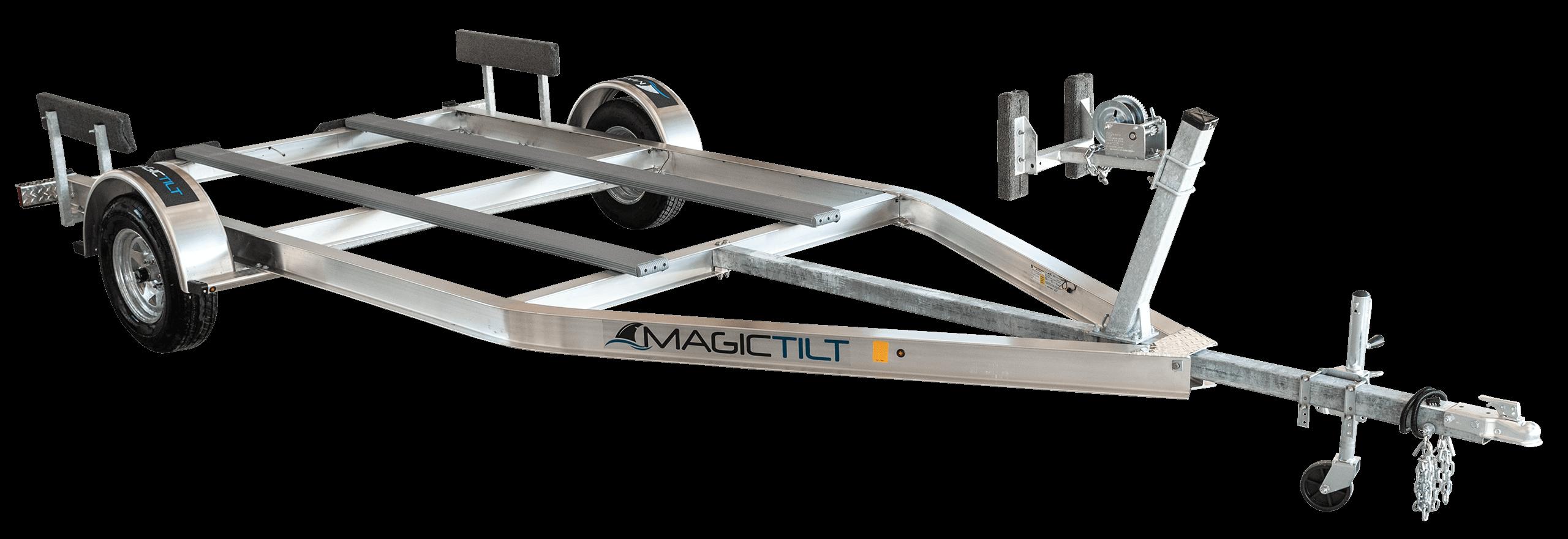 Airboat Series Single Axle Aluminum