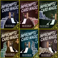 IMPROMPTU CARD MAGIC VOLUME 1-6 DOWNLOAD SET