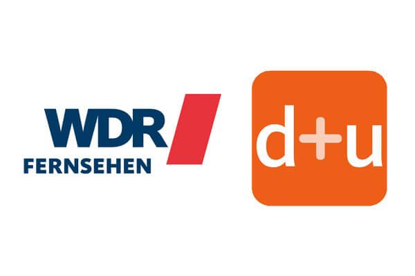 WDR Fernsehen Logo und daheim + unterwegs Logo © WDR