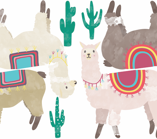 Ilama Sticker Set