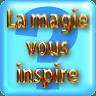 """Pictogramme """"La magie vous inspire"""" de & par Richard Martens pour le CMP"""