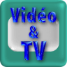 """Pictogramme """"Vidéo & télévision"""" de & par Richard Martens pour le CMP"""