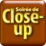 "Pictogramme ""Soirée de close-up"" de & par Richard Martens pour le CMP"