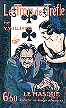 "Couverture de ""Le Trois de trefle"", de V. Williams."