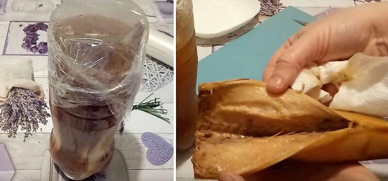 Makrel Soltovaná doma je velmi chutná