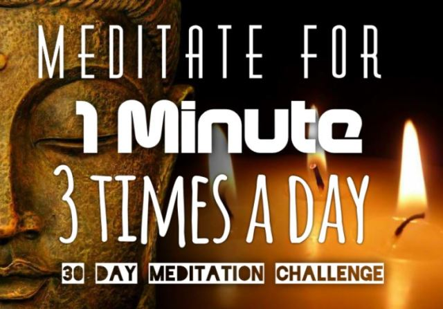 30 Day Meditation Challenge for Inner Peace