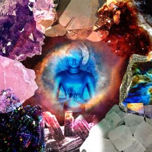 Blue Buddha Stones Gavinas Magikal Door Gem Show Fredericksburg VA Crystals, Stones, Tarot, Meditation, Seminars and More at the Gem Show!