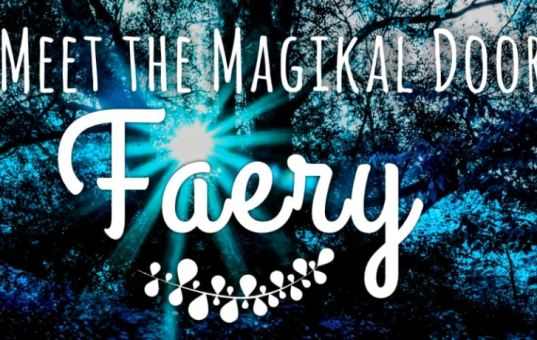 Meet the Magikal Door Faery at the Gem Show April 1-2