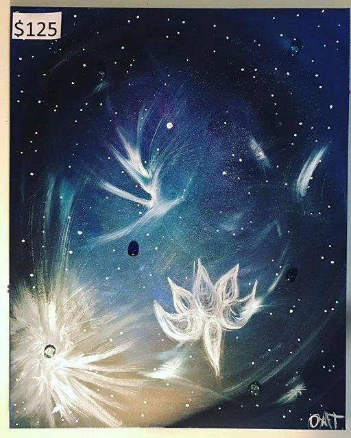 Galactic Enrgy Olivia tatara Art