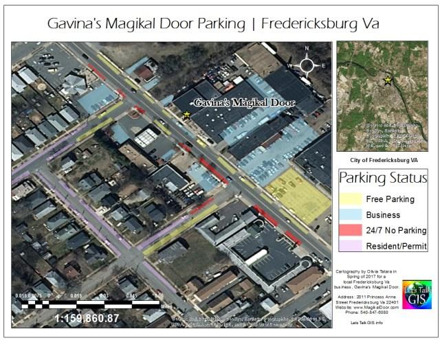 Gavina's Magikal Door Parking