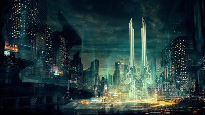 Evermarsh Scifi Future Mega City