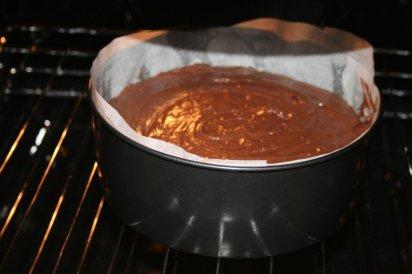 Chocolate cake for Mathias' birthday.
