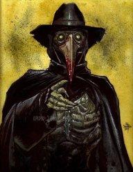 Zombie portrait of Stitch by Sacchetto.