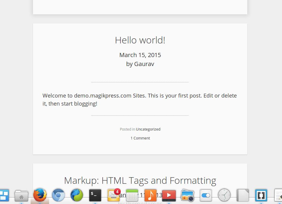 WordPress.org theme repository
