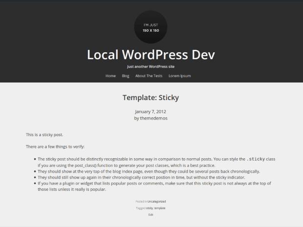 Relativity wordpress theme screenshot