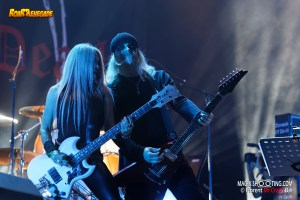 TRIUMPH OF DEATH play HELLHAMMER @t HELLFEST (Clisson , France ) 2019